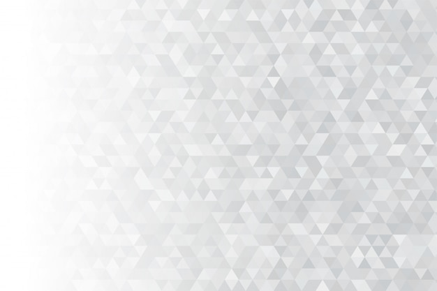 Abstrakter dreieckiger hintergrund. viele digitale graue dreiecke sehen modern aus.