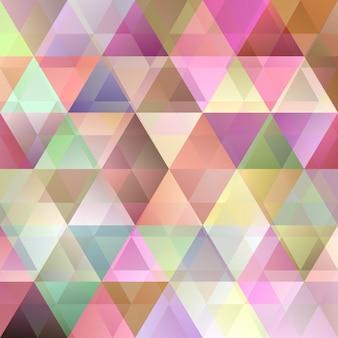 Abstrakter dreieckmusterhintergrund