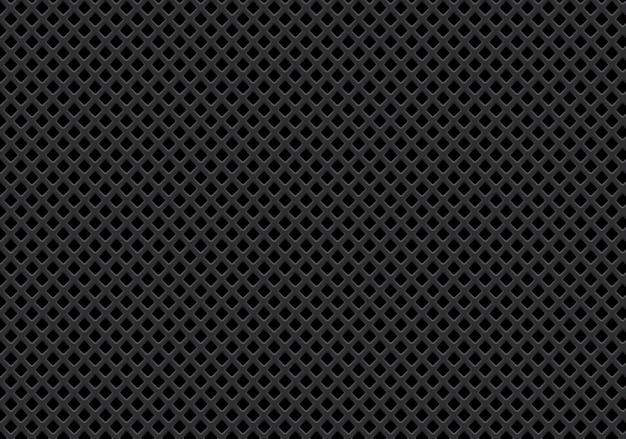 Abstrakter dunkelgrauer diamantmaschen-musterhintergrund