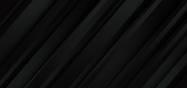 Abstrakter dunkelgrauer linie geometrischer geschwindigkeitsmusterentwurf moderner futuristischer hintergrund.