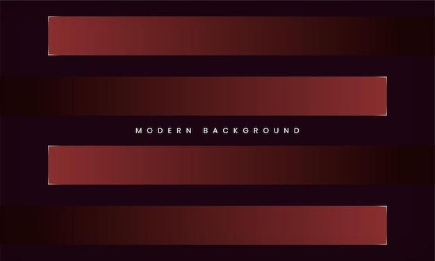 Abstrakter dunkelroter geometrischer hintergrund modernes geschäft und minimale luxusdesignschablone