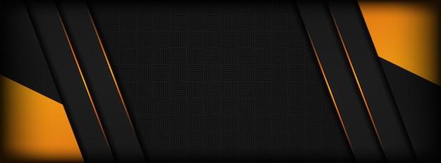 Abstrakter dunkler deckschichthintergrund mit hellorangeem