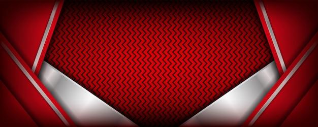 Abstrakter dunkler fahnenhintergrund mit linien kombination