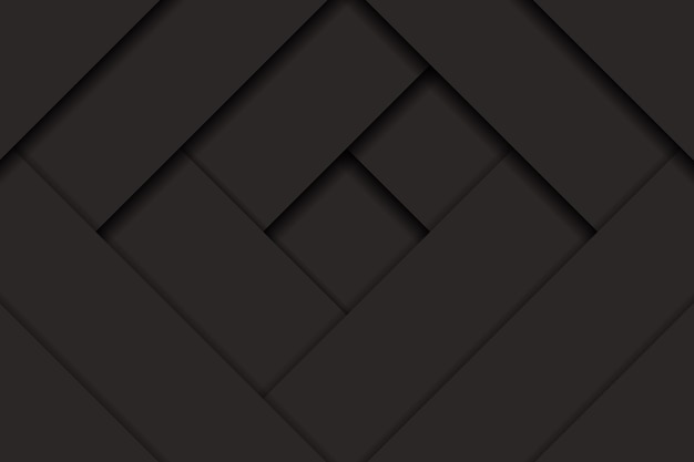 Abstrakter dunkler hintergrund mit ausgeschnittenem papiereffekt. vektor-illustration