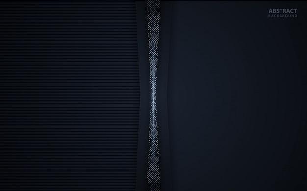 Abstrakter dunkler hintergrund mit funkeln