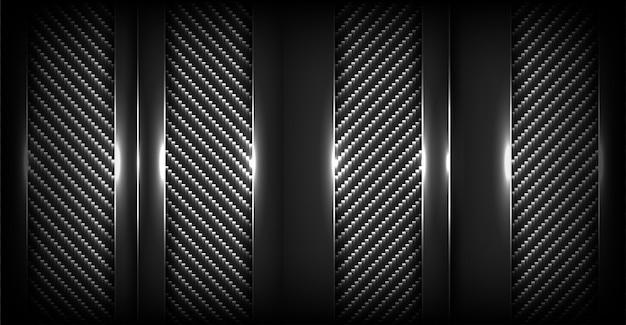 Abstrakter dunkler kohlenstoffhintergrund mit deckschicht