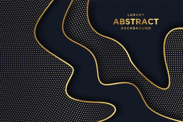 Abstrakter dunkler luxushintergrund
