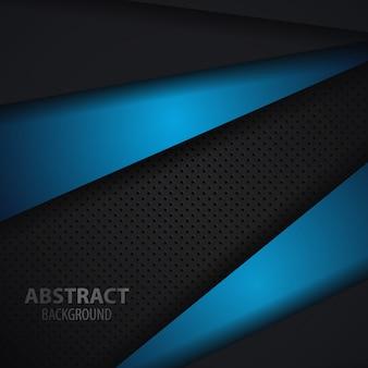 Abstrakter dunkler und blauer hintergrund