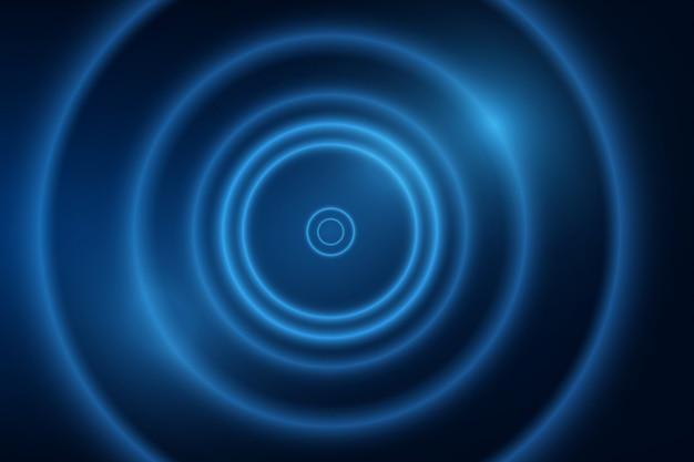 Abstrakter dynamischer blauer hintergrund