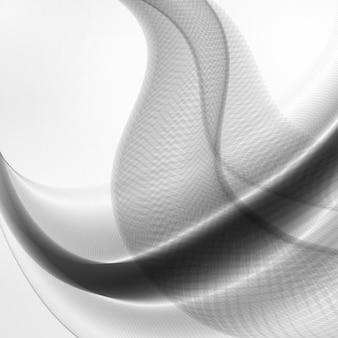 Abstrakter dynamischer hintergrund, futuristische wellenillustration, kunstkonzept
