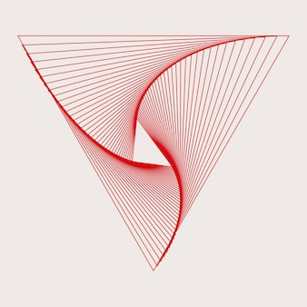 Abstrakter dynamischer mustertapetenvektor