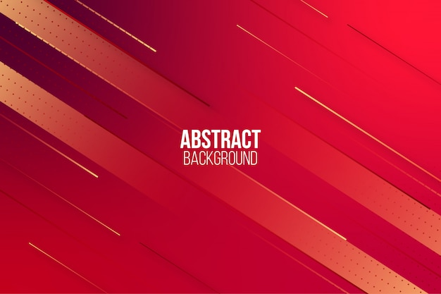 Abstrakter dynamischer roter steigungshintergrund