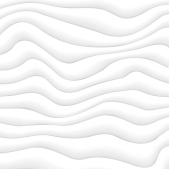 Abstrakter dynamischer weißwellen-hintergrund
