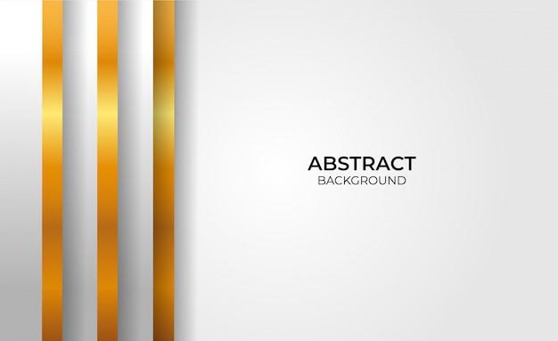 Abstrakter eleganter geometrischer gold- und graustil
