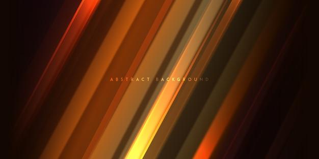 Abstrakter eleganter geometrischer lichthintergrund