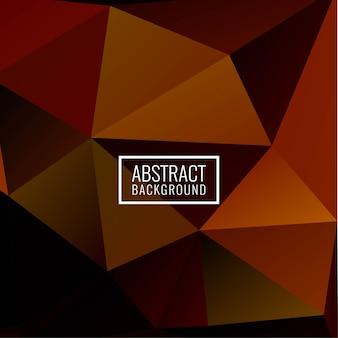 Abstrakter eleganter geometrischer polygonhintergrund