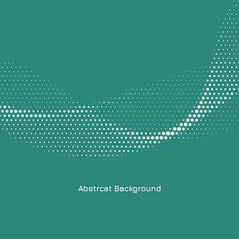Abstrakter eleganter gewellter halbtonentwurfshintergrundvektor