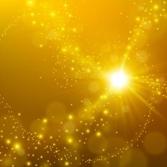 Abstrakter eleganter goldglanzhintergrund