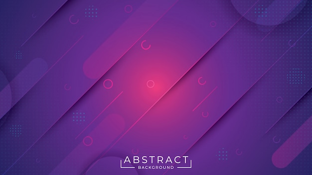 Abstrakter eleganter hintergrund mit violetter farbe