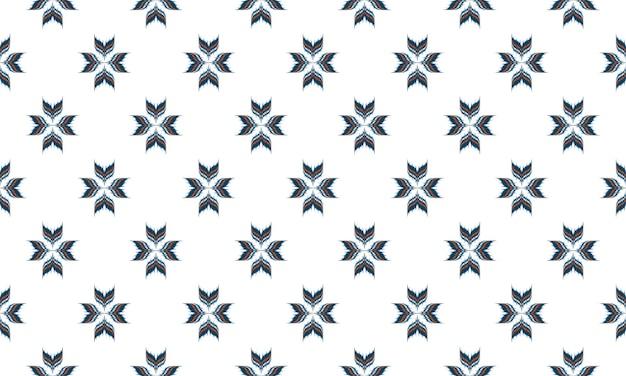 Abstrakter ethnischer ikat-chevron-musterhintergrund. ,teppich,tapete,kleidung,wrapping,batik,stoff,vektorillustration.embroidery-stil. Premium Vektoren