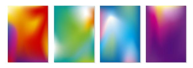 Abstrakter farbflußhintergrund