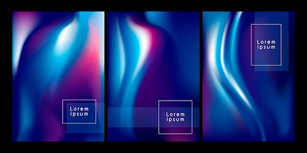 Abstrakter farbflusshintergrund