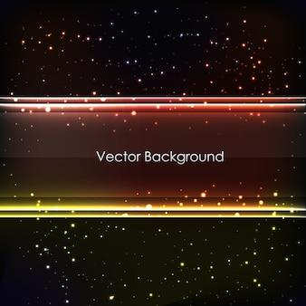 Abstrakter farbiger leuchtender hintergrund