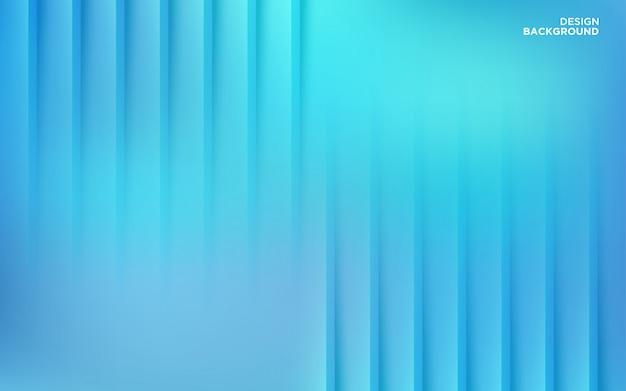 Abstrakter farbverlauf blauer papierschnitt formt hintergrund