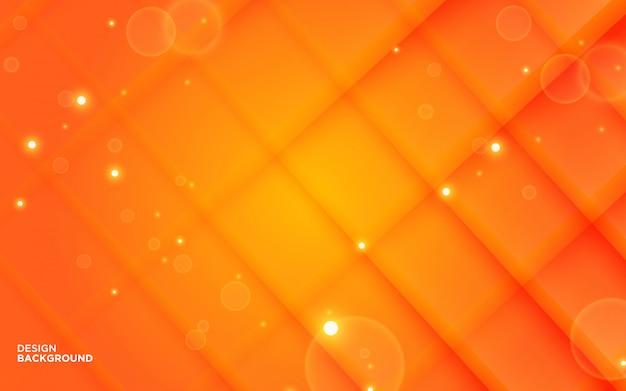 Abstrakter farbverlauf orange papierschnitt form hintergrund