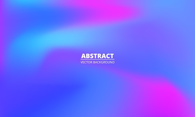 Abstrakter flüssiger bunter regenbogen mehrfarbiger holographischer gradientenhintergrund.