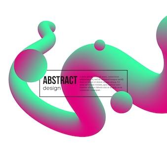Abstrakter flüssiger farbhintergrund.
