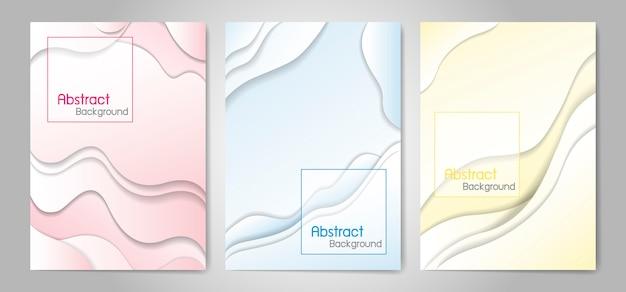 Abstrakter flüssiger farbhintergrund