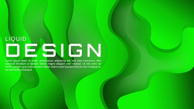 Abstrakter flüssiger farbverlaufshintergrund mit lebendiger farbe für web-landingpage und wallpaper