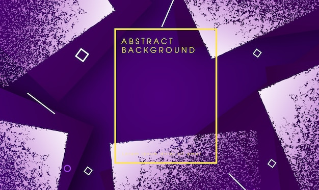 Abstrakter fraktaler geometrischer hintergrund