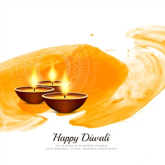 Abstrakter frommer glücklicher diwali-hintergrund