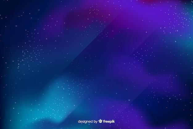 Abstrakter galaxiehintergrund