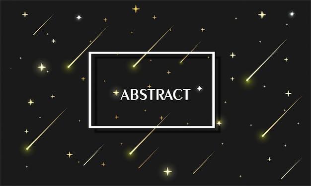 Abstrakter galaxienhintergrund schwarz