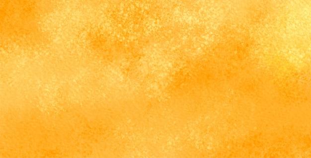 Abstrakter gelber aquarellentwurf