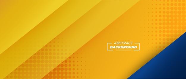 Abstrakter gelber gradientenhintergrund