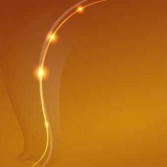 Abstrakter gelber hintergrund mit ein fantastisches element