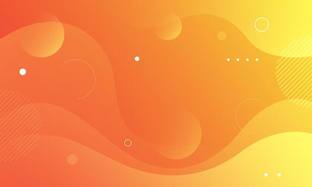 Abstrakter gelber hintergrund mit farbverlauf vektor-illustration