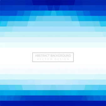 Abstrakter geometrischer blauer hintergrundvektor