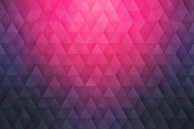 Abstrakter geometrischer dreieckiger hintergrund 3d