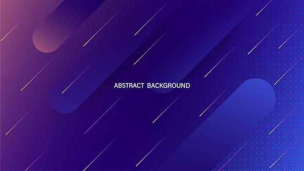 Abstrakter geometrischer flüssiger dynamischer hintergrund. minimale flüssigkeitsform. futuristischer abstrakter hintergrund. lager .