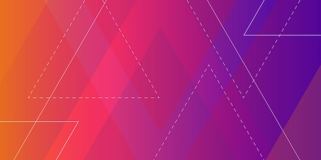 Abstrakter geometrischer form-hintergrund