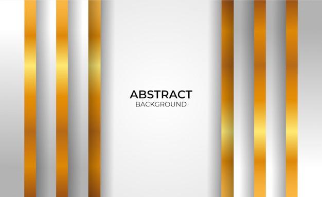 Abstrakter geometrischer gold- und graustil