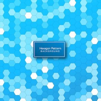 Abstrakter geometrischer hexagonmusterhintergrund
