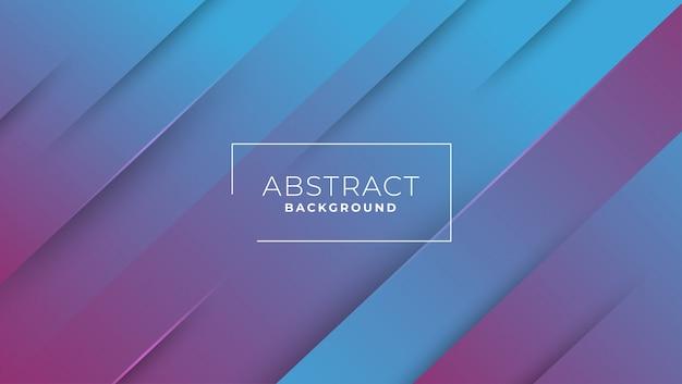 Abstrakter geometrischer hintergrund des blauen lila des gradienten