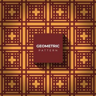 Abstrakter geometrischer hintergrund mit quadratischen linien