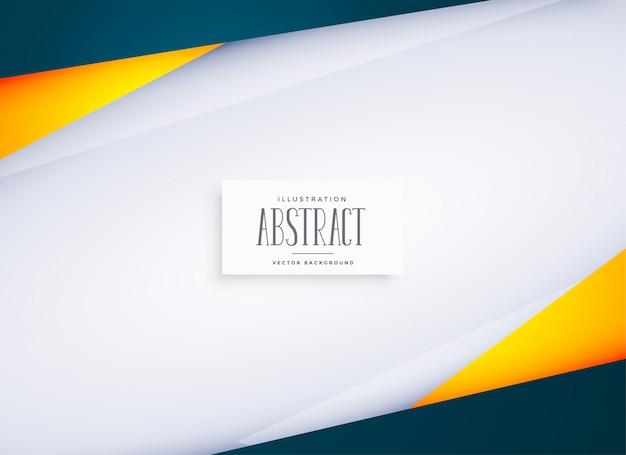Abstrakter geometrischer hintergrund mit textplatz